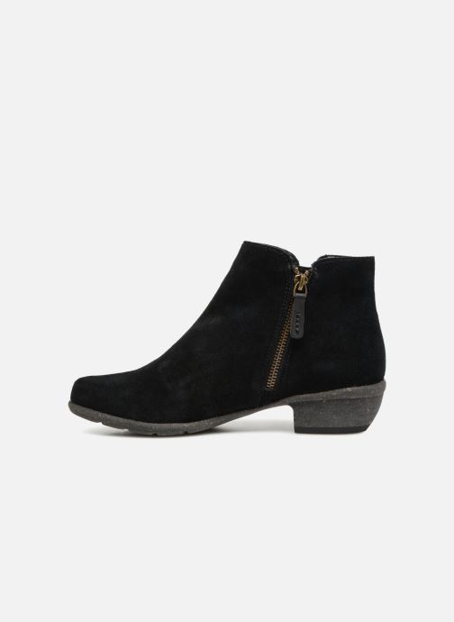 Bottines et boots Clarks Unstructured Wilrose Frost Noir vue face