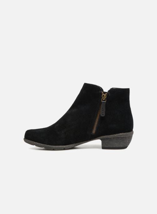 Boots en enkellaarsjes Clarks Unstructured Wilrose Frost Zwart voorkant