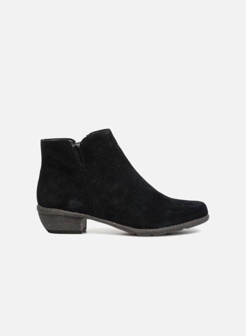 Botines  Clarks Unstructured Wilrose Frost Negro vistra trasera