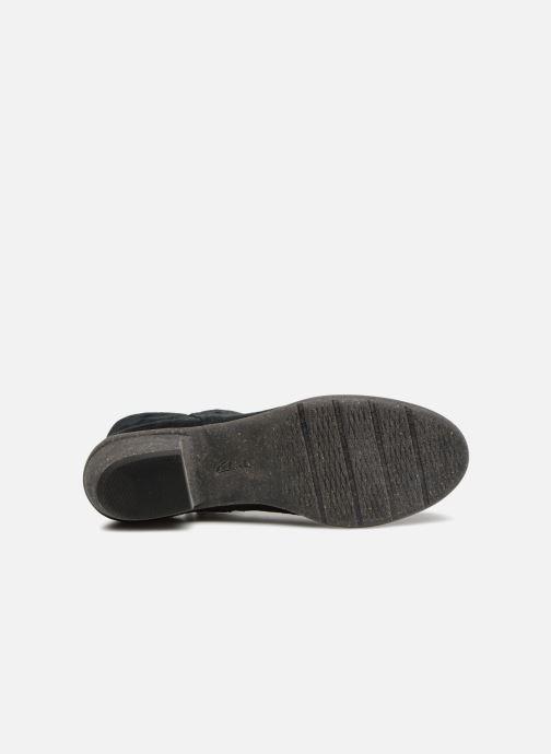 Bottines et boots Clarks Unstructured Wilrose Frost Noir vue haut