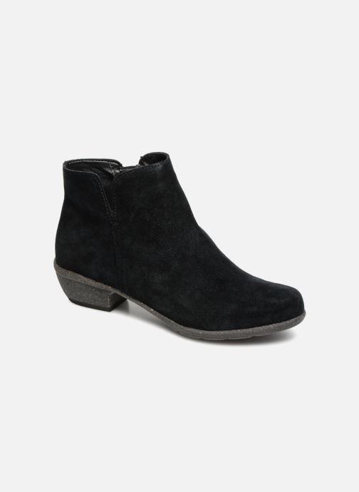 Bottines et boots Clarks Unstructured Wilrose Frost Noir vue détail/paire