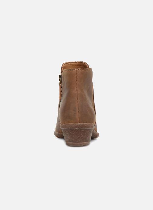 Bottines et boots Clarks Unstructured Wilrose Frost Marron vue droite