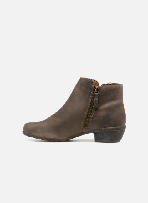 Bottines et boots Clarks Unstructured Wilrose Frost Marron vue face