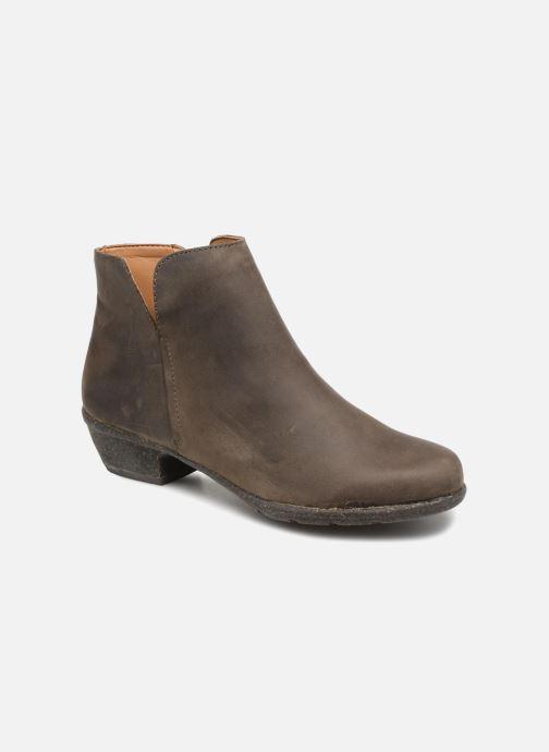 Bottines et boots Clarks Unstructured Wilrose Frost Marron vue détail/paire
