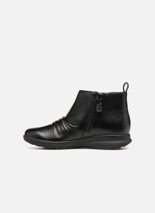 Bottines et boots Clarks Unstructured Un Adorn Mid Noir vue face