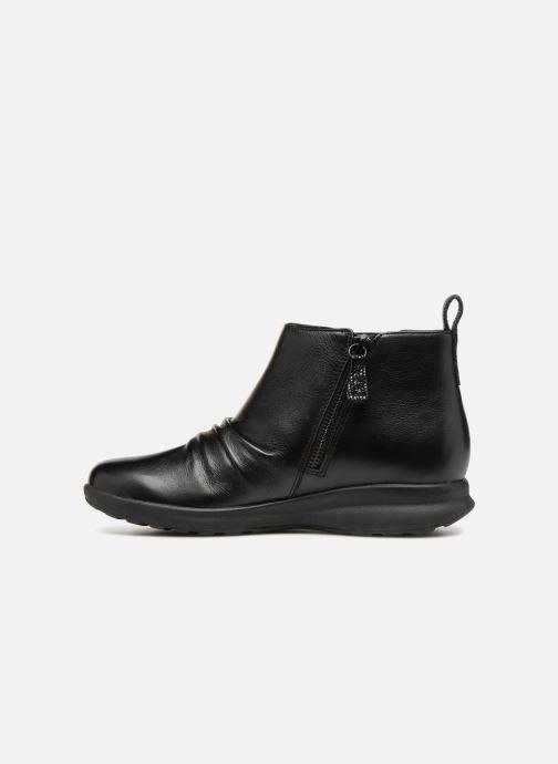 Bottines et boots Clarks Unstructured Un Adorn Mid Noir vue face