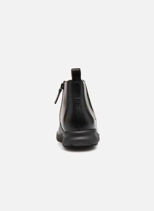 Bottines et boots Clarks Unstructured Un Adorn Mid Noir vue droite