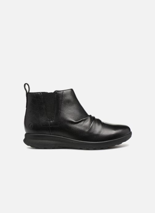 Bottines et boots Clarks Unstructured Un Adorn Mid Noir vue derrière