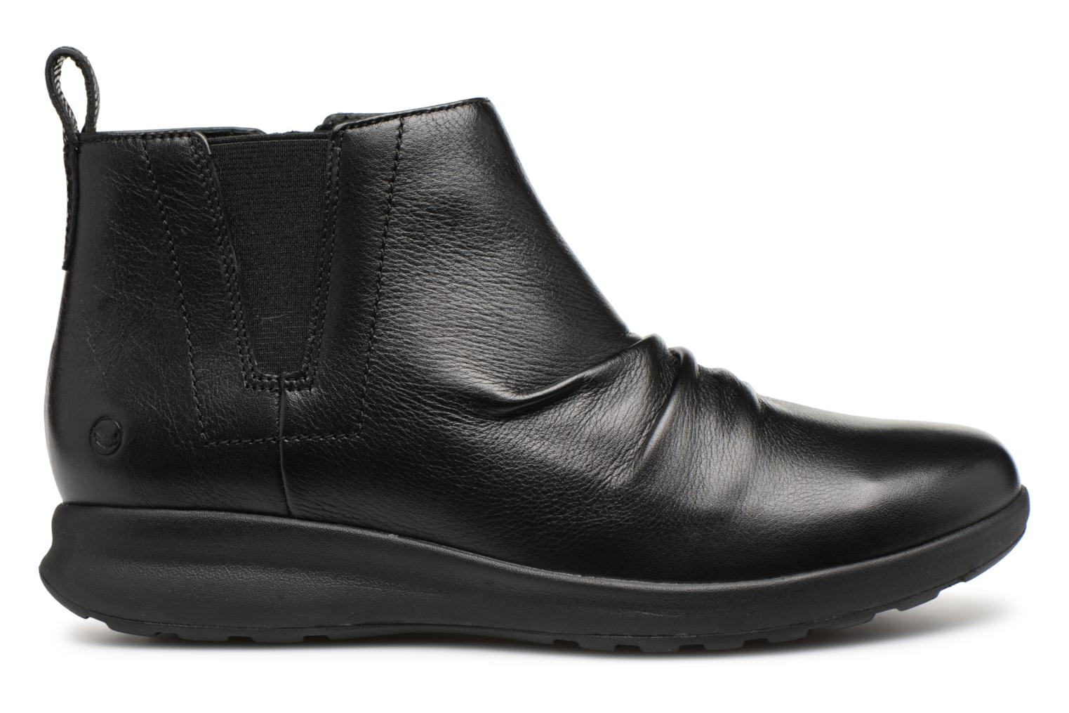 Clarks Black Leather Mid Un Unstructured Adorn BBqAfw