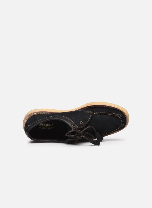 Chaussures à lacets G.H. Bass BA11233 Bleu vue gauche
