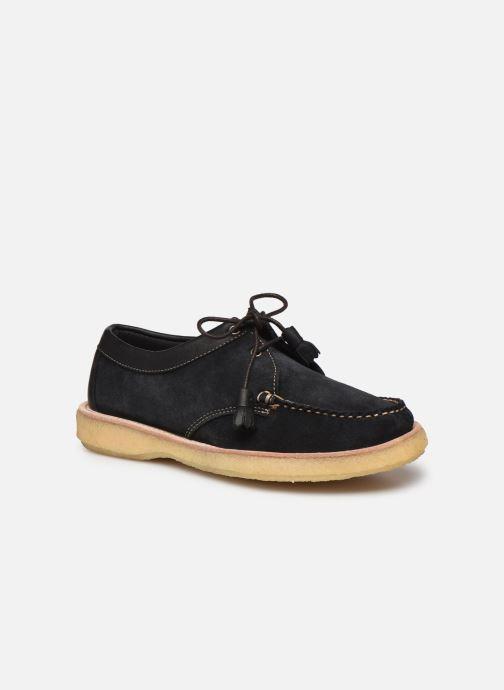 Chaussures à lacets G.H. Bass BA11233 Bleu vue détail/paire