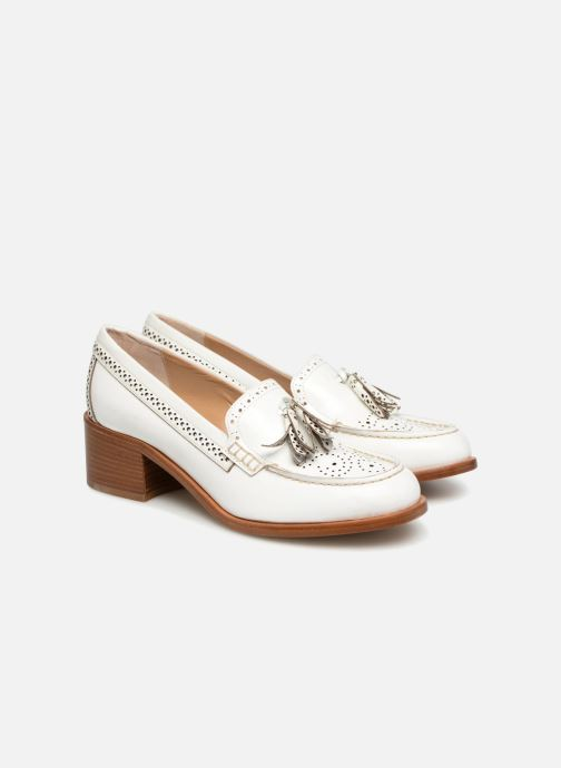Loafers G.H. Bass BA41519 White 3/4 view