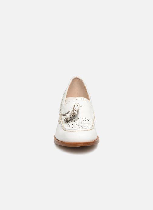 Mocassins G.H. Bass BA41519 Blanc vue portées chaussures