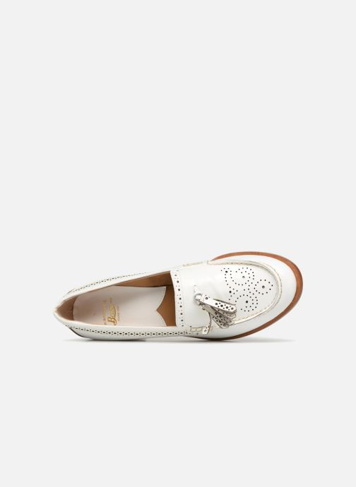 Loafers G.H. Bass BA41519 White view from the left