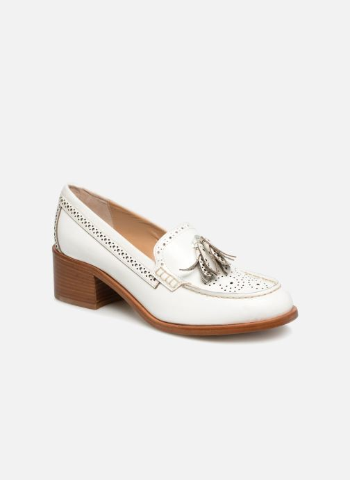 Loafers G.H. Bass BA41519 White detailed view/ Pair view
