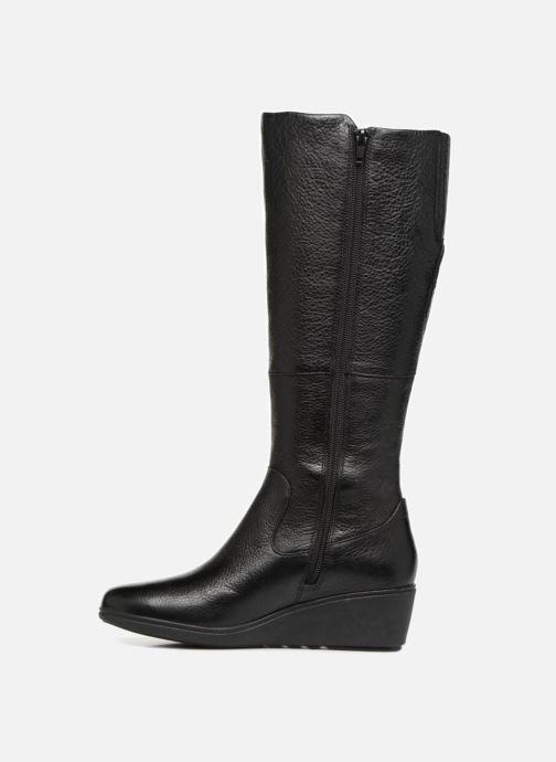 Boots & wellies Clarks Unstructured Un Tallara Esa Black front view