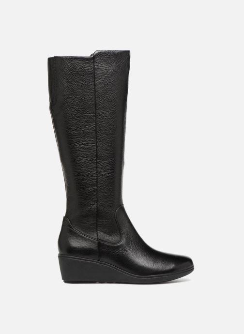 Boots & wellies Clarks Unstructured Un Tallara Esa Black back view