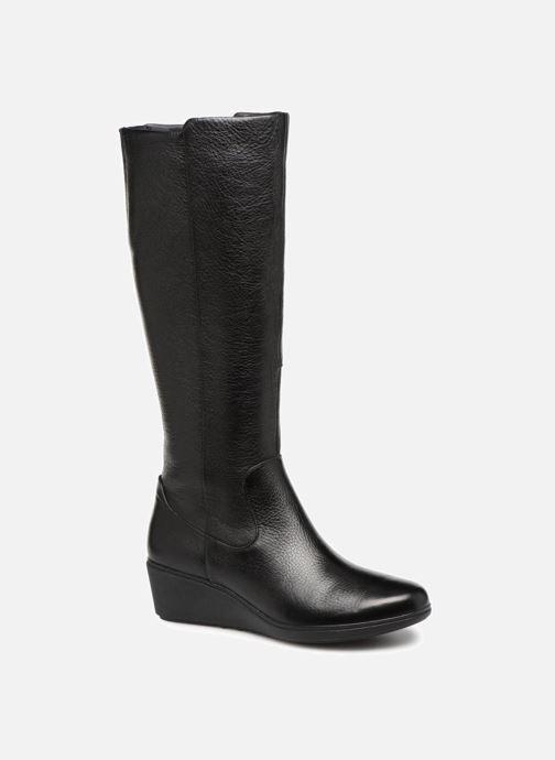 Stiefel Clarks Unstructured Un Tallara Esa schwarz detaillierte ansicht/modell