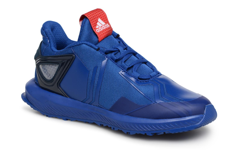 Adidas Performance RapidaRun Spider-Man (Blauw) - Sneakers chez ... 8ef761d0496