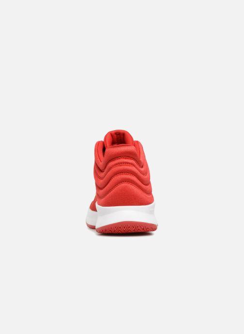 Adidas Performance Pro Spark 2018 K (Red) - Sport shoes chez Sarenza ... f90e6582b2c