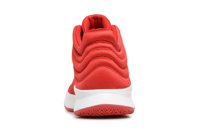 Sportschuhe Adidas Performance Pro Spark 2018 K rot ansicht von rechts