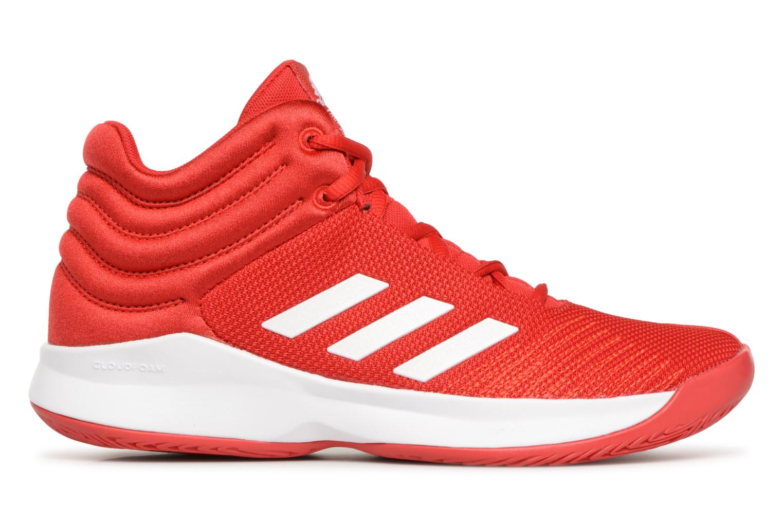 Sportschuhe Adidas Performance Pro Spark 2018 K rot ansicht von hinten