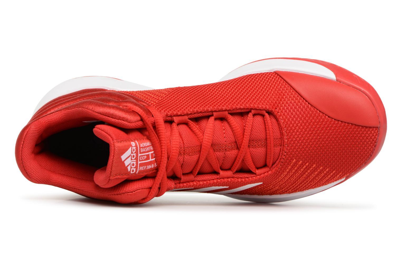 Sportschuhe Adidas Performance Pro Spark 2018 K rot ansicht von links