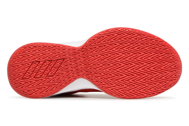 Sportschuhe Adidas Performance Pro Spark 2018 K rot ansicht von oben