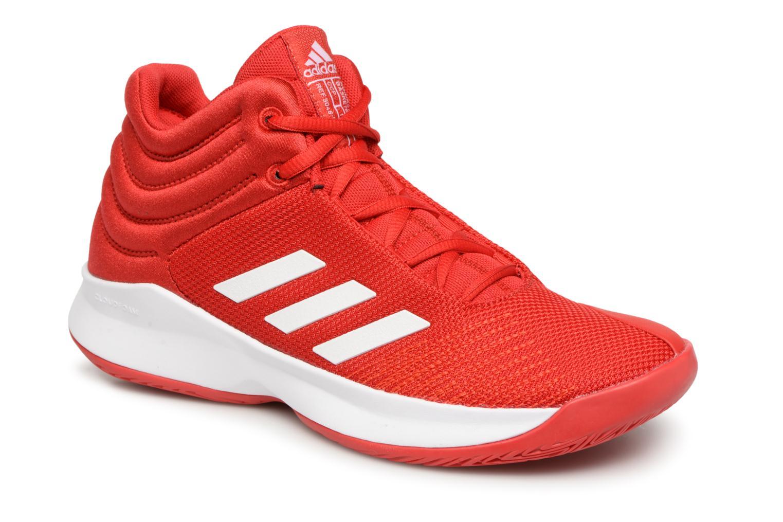 Sportschuhe Adidas Performance Pro Spark 2018 K rot detaillierte ansicht/modell