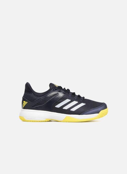 Sport shoes adidas performance AdiZero Club K Black back view