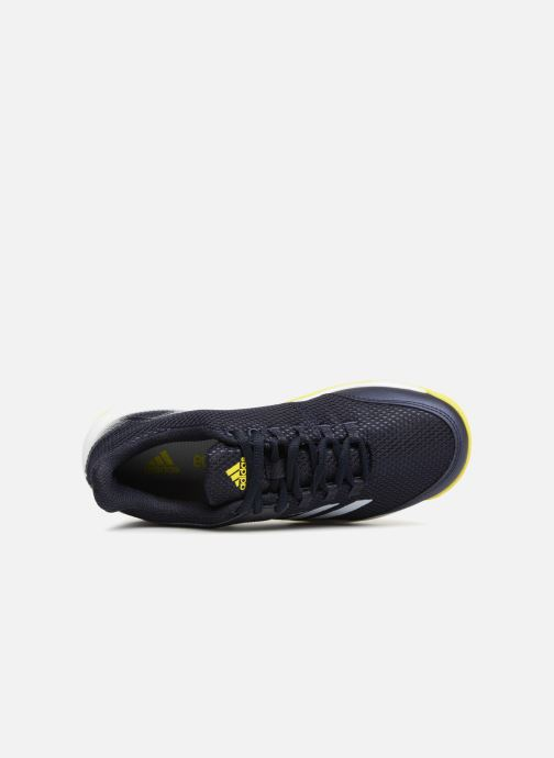Sport shoes adidas performance AdiZero Club K Black view from the left