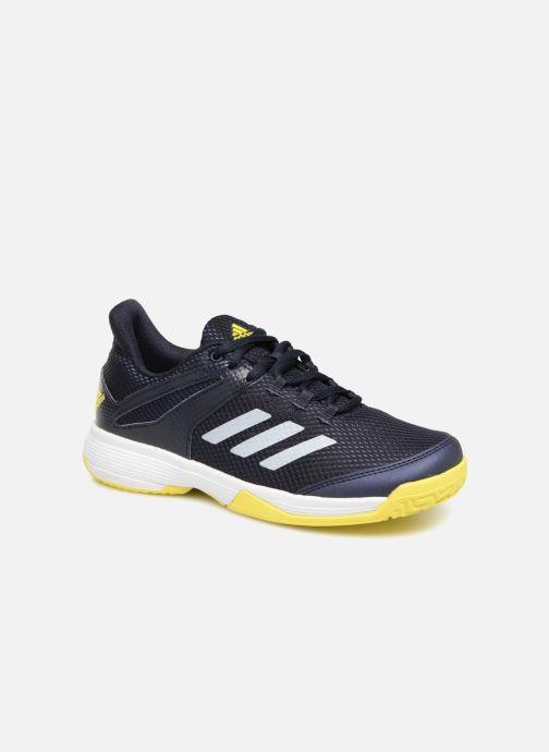 Sport shoes adidas performance AdiZero Club K Black detailed view/ Pair view