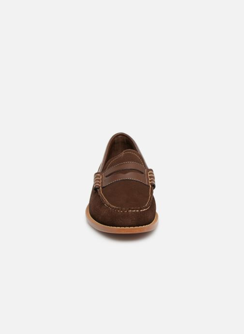 Loafers G.H. Bass Weejuns Larson Reverso Brown model view