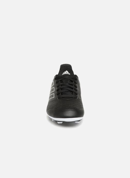 Chaussures de sport adidas performance Predator 18.4 FxG J Noir vue portées chaussures