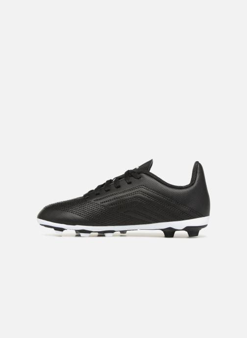 Chaussures de sport adidas performance Predator 18.4 FxG J Noir vue face