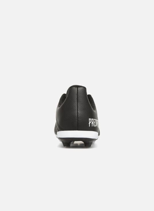 Chaussures de sport adidas performance Predator 18.4 FxG J Noir vue droite