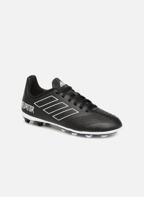 Chaussures de sport adidas performance Predator 18.4 FxG J Noir vue détail/paire