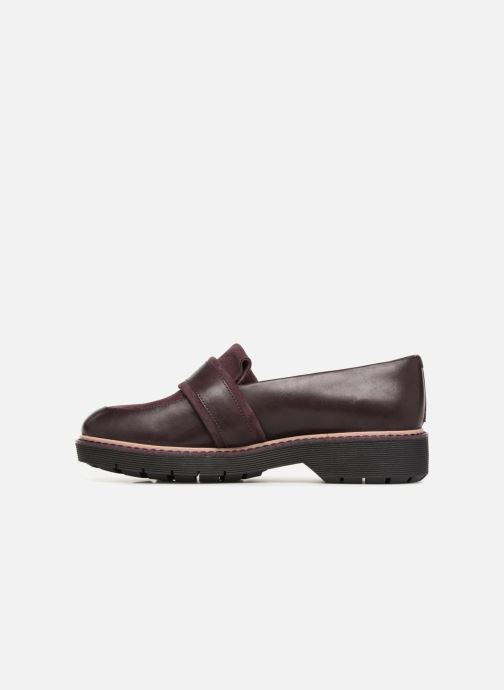 Loafers Clarks Alexa Ruby Purple front view