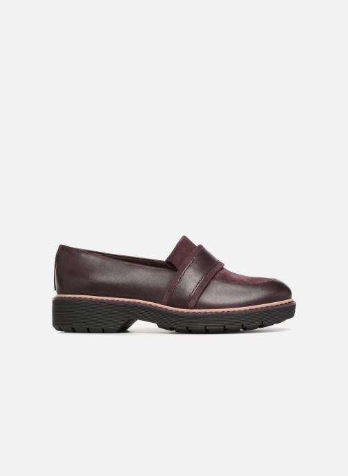 Loafers Clarks Alexa Ruby Purple back view