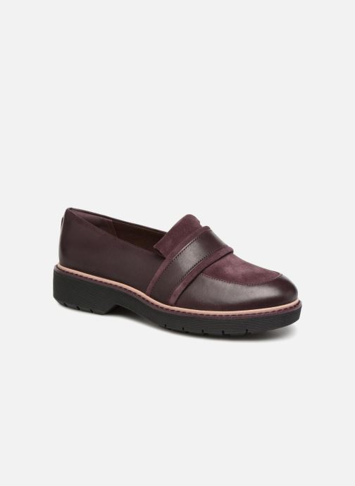Loafers Clarks Alexa Ruby Purple detailed view/ Pair view