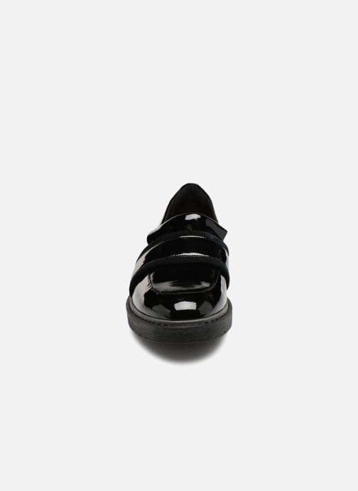 Mocassins Clarks Alexa Ruby Noir vue portées chaussures