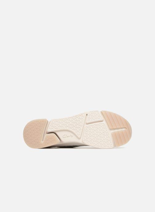 Sneakers Clarks Tri Native. Beige bild från ovan