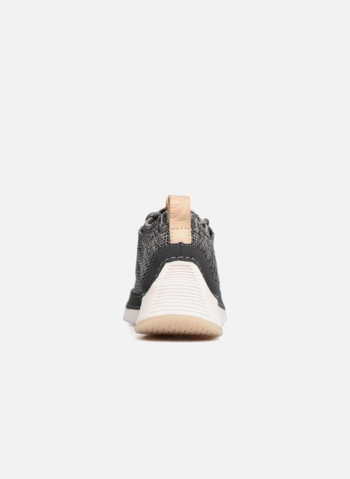Sneakers Clarks Tri Native. Grå Bild från höger sidan