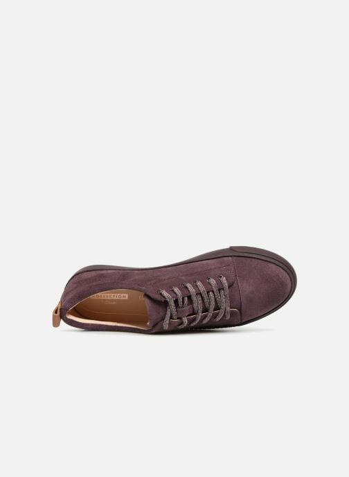 Sneakers Clarks Glove Echo Paars links