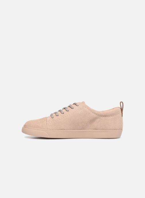 Sneakers Clarks Glove Echo Roze voorkant
