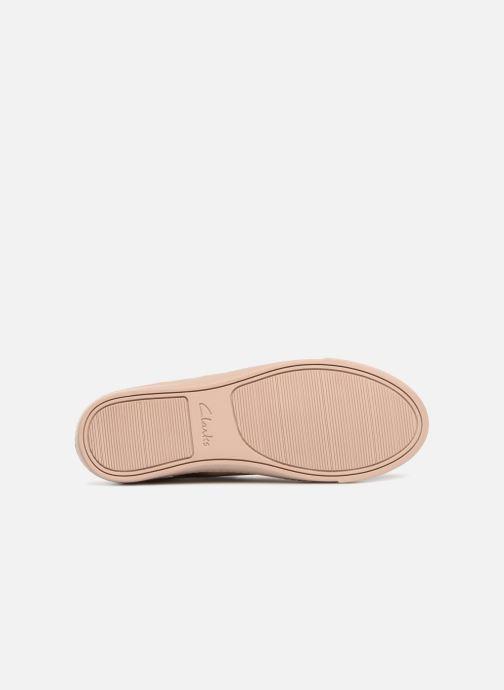 Sneakers Clarks Glove Echo Roze boven