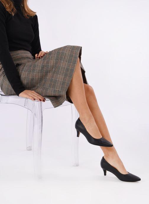 Zapatos de tacón Clarks Linvale Jerica Negro vista de abajo