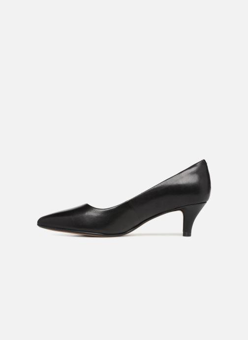 Zapatos de tacón Clarks Linvale Jerica Negro vista de frente