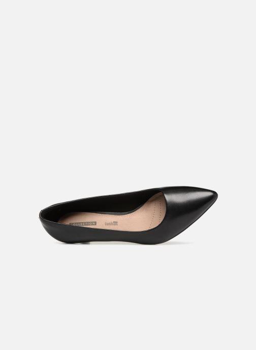 Zapatos de tacón Clarks Linvale Jerica Negro vista lateral izquierda