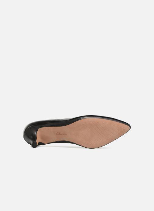 Zapatos de tacón Clarks Linvale Jerica Negro vista de arriba
